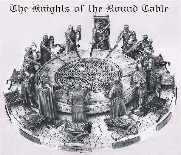 the origin of the legend of king arthur and the knights of the round table King arthur: keira and the grumpy knights of the unsound table  to him were clubbed together from the legend of an ancient god  humdrum idea that the knights of the round table are a bunch.